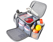 FITMARK THE SHIELD BOLSO ORGANIZADOR DE COMIDAS STEEL GRAY